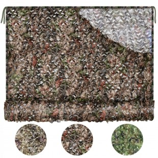 iunio Camo Netting, Camouflage Net, Military Nets, Lightweight Durable,Different Size, for Camping Military Hunting Shooting Sunscreen Nets Sunshade etc